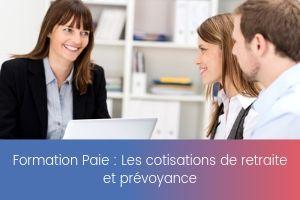 Les cotisations de retraite et prévoyance – image – site
