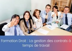 Formation – Les collaborateurs à temps partiel