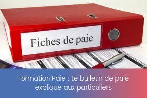 Le bulletin de paie expliqué aux particuliers – image – site