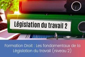 Les fondamentaux de la Législation du travail (niveau 2) – image – site