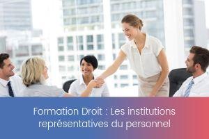 Les institutions représentatives du personnel – image – site