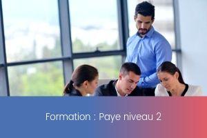 Formation – Paie niveau 2