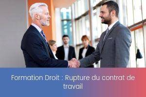 Rupture du contrat de travail – image – site