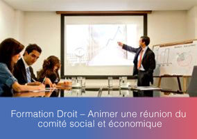 Formation – Fonctionnement du comité social et économique