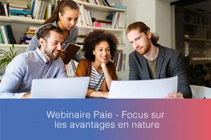 Webinaire – Focus sur les avantages en nature